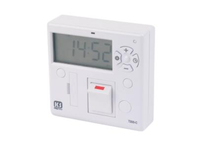 Digital timer switch for exterior spotlights